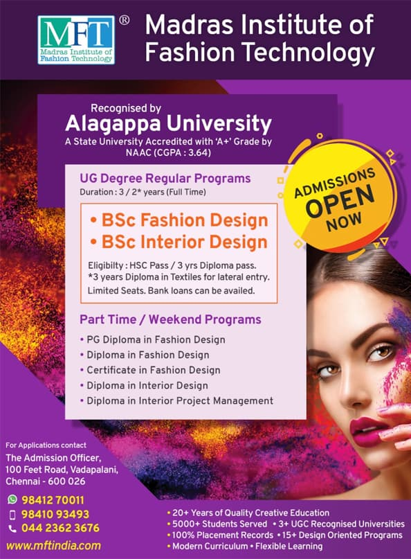 Fashion Designing Courses in Chennai at Madras Institute of